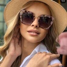 Klassische Design Cat Eye Shades Sonnenbrille Frauen Männer Reisen Metall T Sonnenbrille für Frau Quadrat Gläser Oculos zonnebril dames