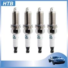 4 шт. IKH20TT 4704 двойной иридиевая Свеча зажигания для Toyota Lexus Honda Volvo Subaru Peugeot 408 508 Citroen C5 2,0 2.3L IKH20TT-4704