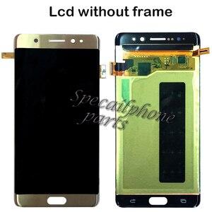 Image 5 - AMOLED LCD עבור סמסונג הערה מאוורר מהדורת FE LCD N935F N935 תצוגת מסך מגע Digitizer עצרת לסמסונג N930F הערה 7 LCD