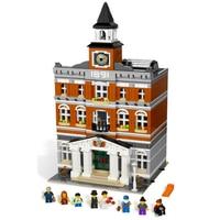 84003 Town Hall Building Blocks Bricks Modular Classic architecture Toys Birthday Gifts Compatible lepinglys 10224 Keepsake