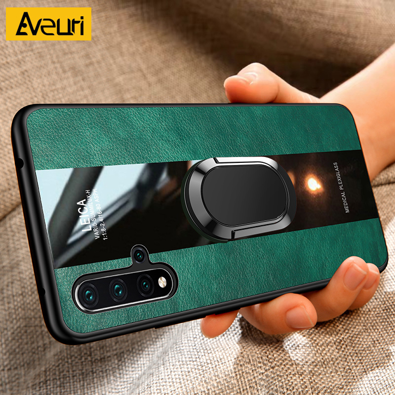 Leather Phone Case For Huawei Honor 8X 9X 10i 8 9 10 Lite i Car Magnetic Cover Case For Honor 9A 9S 9C 20S 20 View 30 Pro Coque(China)