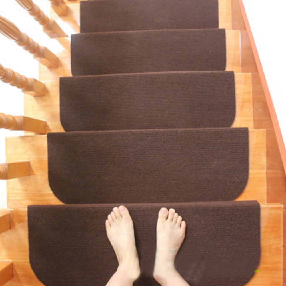 Staircase Cover Reusable Rug Non Slip Carpet Durable Home Decoration Self Adhesive Stair Tread Floor Mat Protective Step