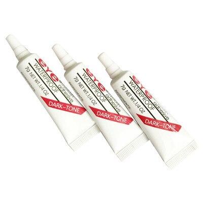 2pcs False Eyelashes Makeup Adhesive False Eyelash Glue Clear-white Dark-black Waterproof Eye Lash Cosmetic Tools 3