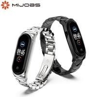 Per cinturino Mi Band 6 cinturino da polso per Xiaomi Mi Band 5 4 3 braccialetti Correa Opaska Miband 3 Pulseira Watch NFC versione globale