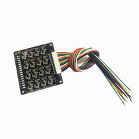 16S 17S BMS 1.2A balance Current Li-ion Lifepo4 Lithium Battery Active Equalizer Balancer Energy Transfer Board