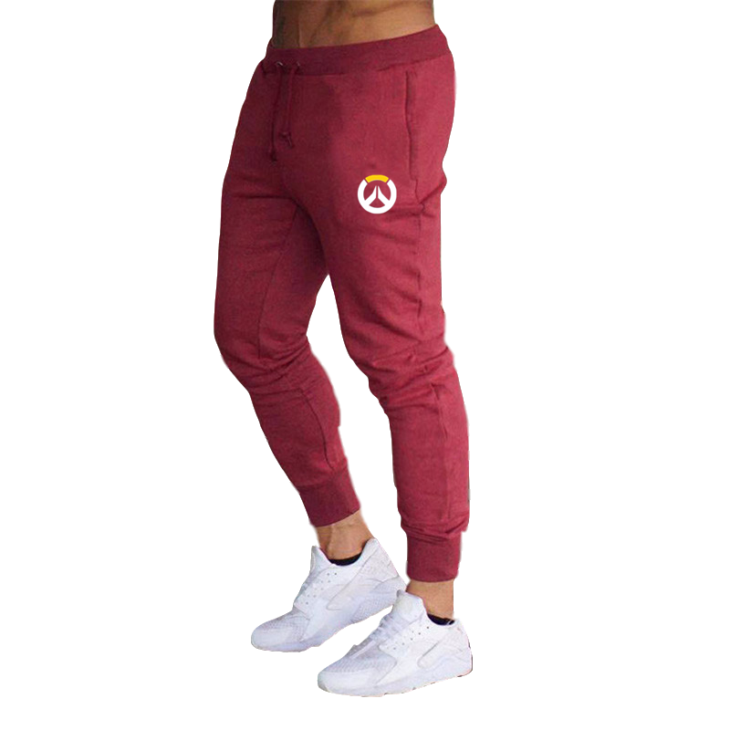 Game Overwatch OW Sport Pants Casual Cotton Joggers Gym Sweatpants Long Trousers