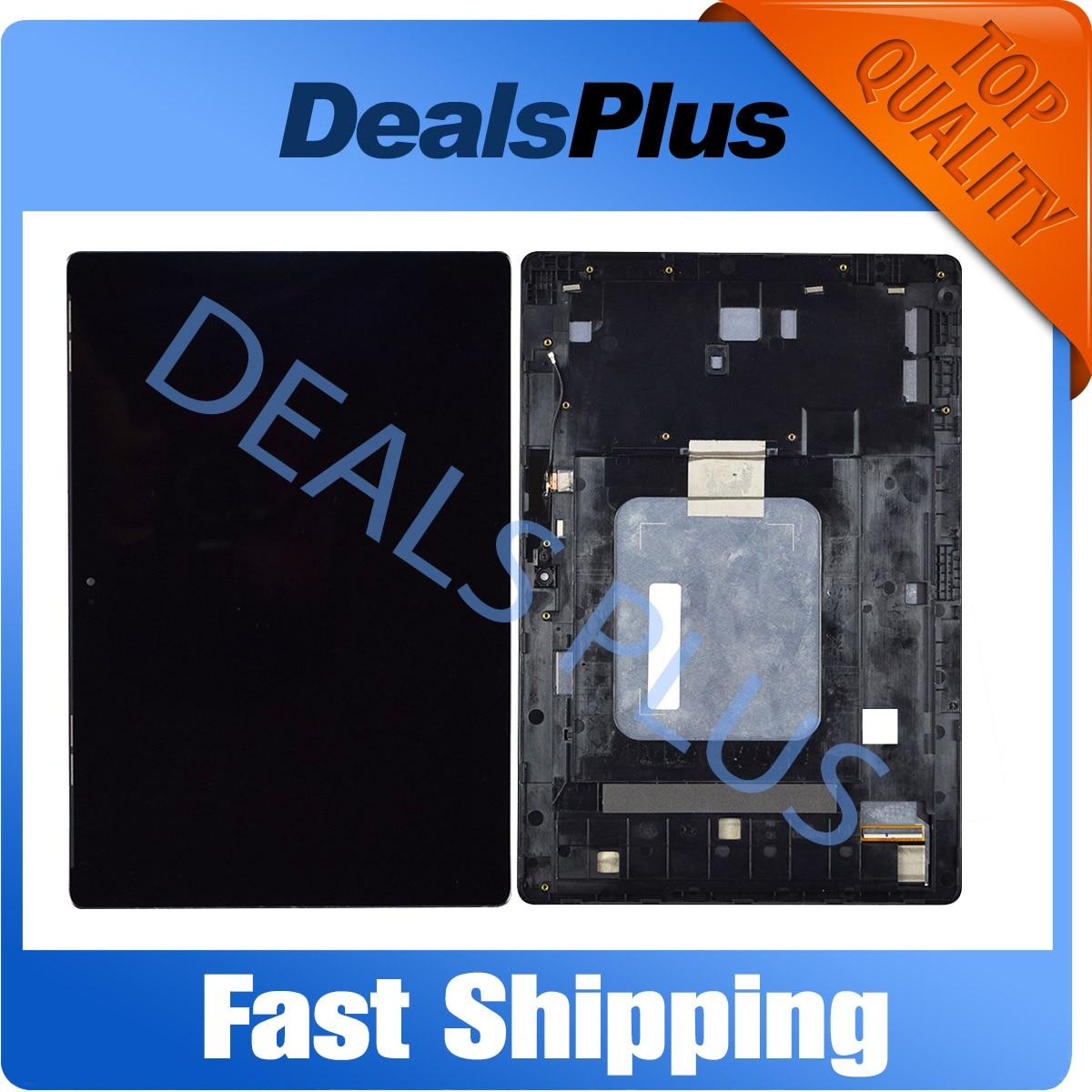 Remplacement nouvel écran LCD + écran tactile avec assemblage de cadre pour Asus Zenpad 10 Z300M P00C Z300C Z301ML P028 Z300CNL P01T noir