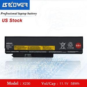 SKOWER X230 Battery For Lenovo ThinkPad X220 X220i X230i 45N1023 45N1024 44+ 11.1V/5200mAh