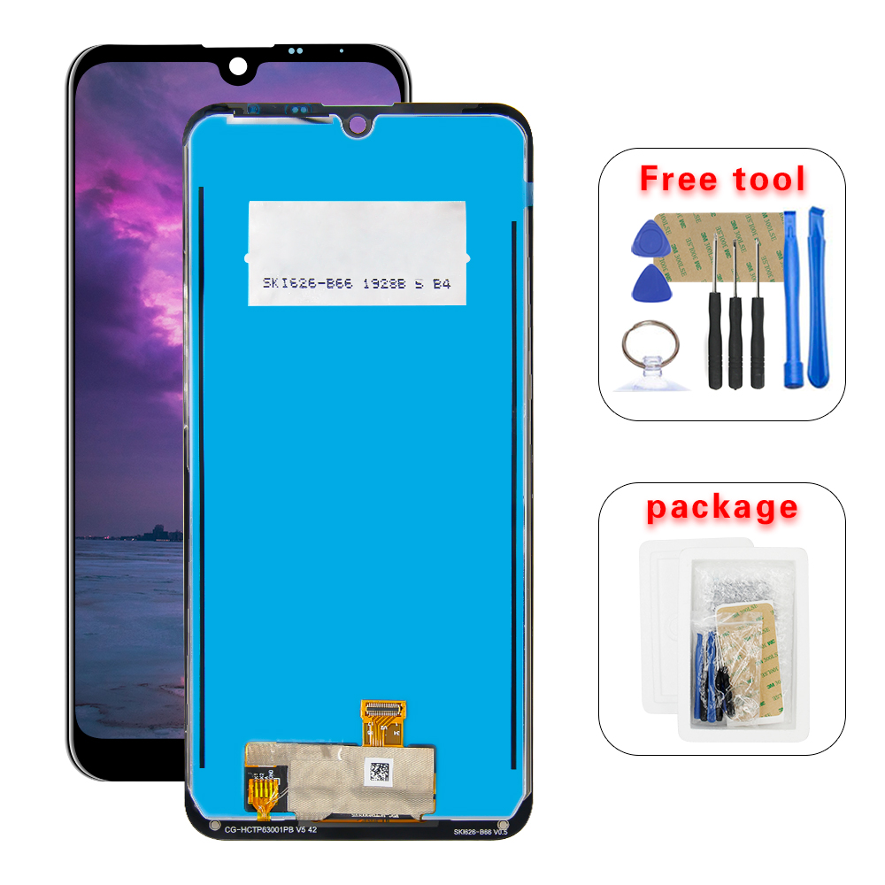 For LG K50 Q60 LMX520BMW LMX520EMW LCD Display Touch Screen Digitizer Assembly + Too