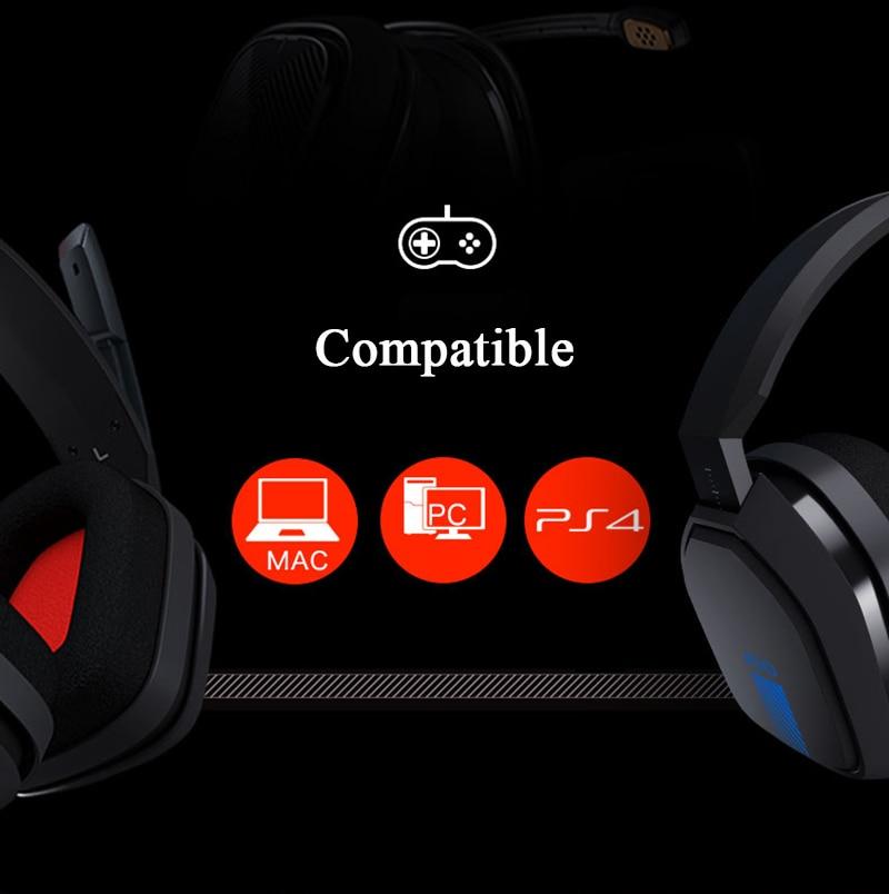virtual com microfone gaming fone de ouvido para ps4 e pc csgo