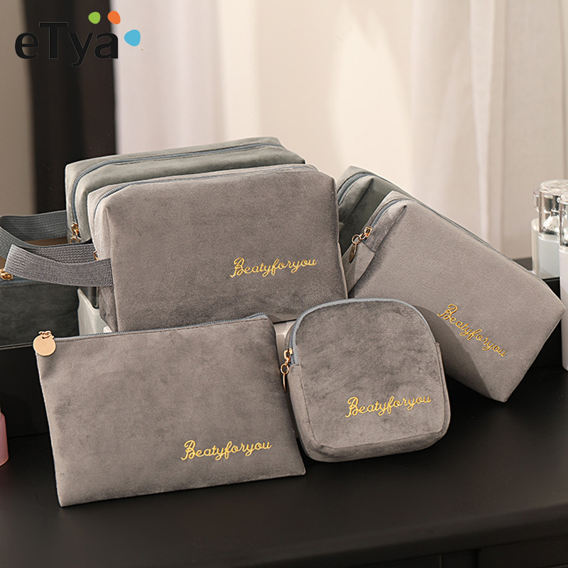 ETya Travel Packing Organizers Cosmetic Bag Makeup Pouch Portable Storage Case Luggage Suitcase Bags Travel Accessories
