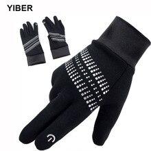 Velvet Gloves Touchscreen Handschoenen Autumn Winter Full-Finger Keep-Warm Cotton Fiets