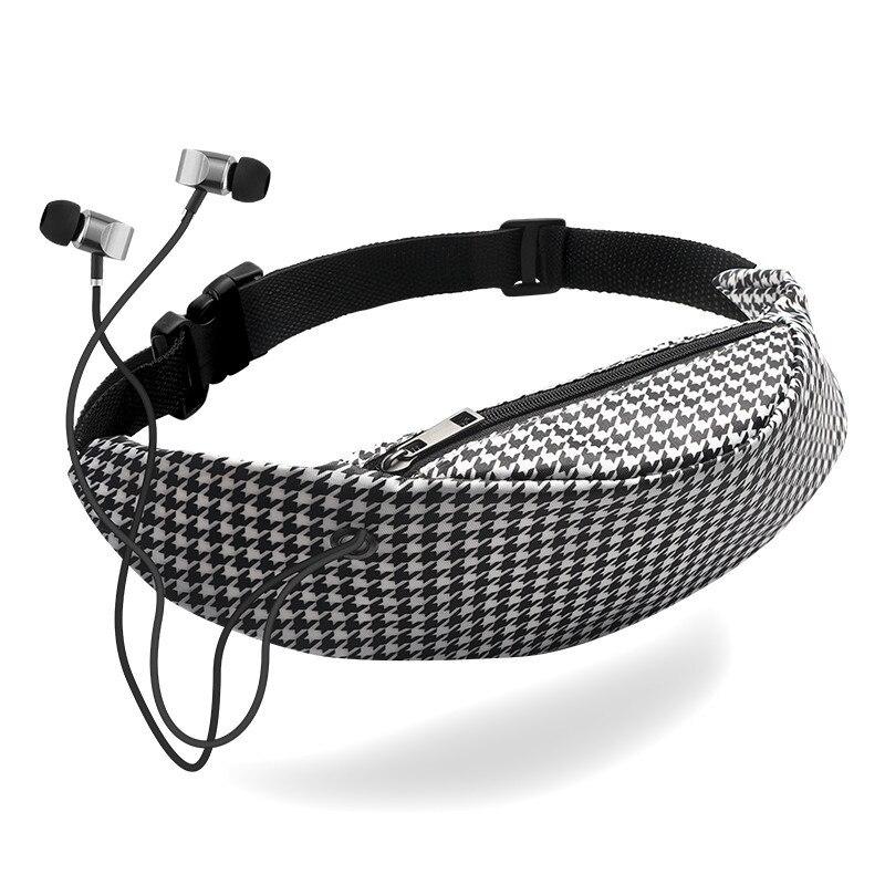 Waist Bags 3D Printing Waterproof Travelling Fanny Pack Mobile Phone Waist Packs For Women Designer Belt Bags