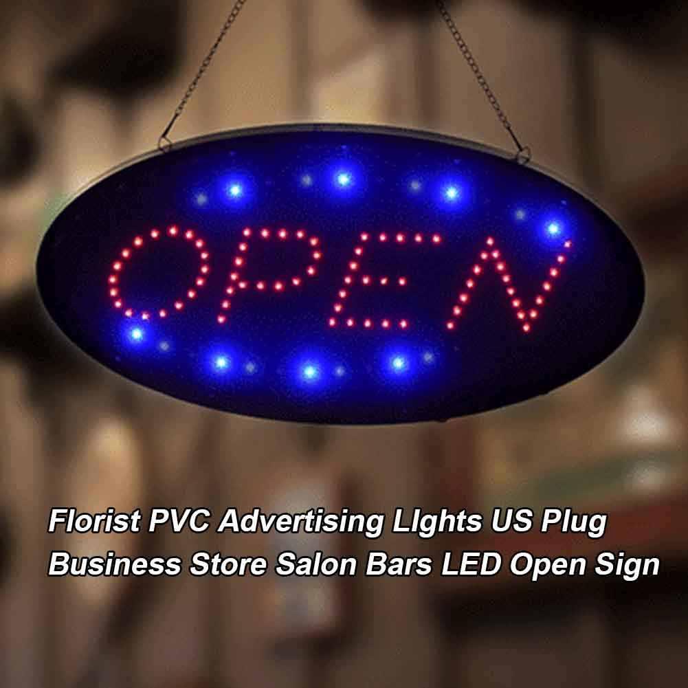 Kapı mağaza açık Neon işaretleri Led Neon ışık sanat duvar dekoratif lamba çubuğu restoran dükkanı pencere duvar asılı görüntüleme