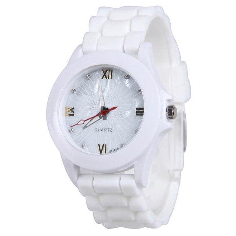 2019 Women Kids Watches Silicone Rubber Jelly Gel Quartz Casual Sports Wrist  Analog Quartz Watch White Reloj Mujer Q
