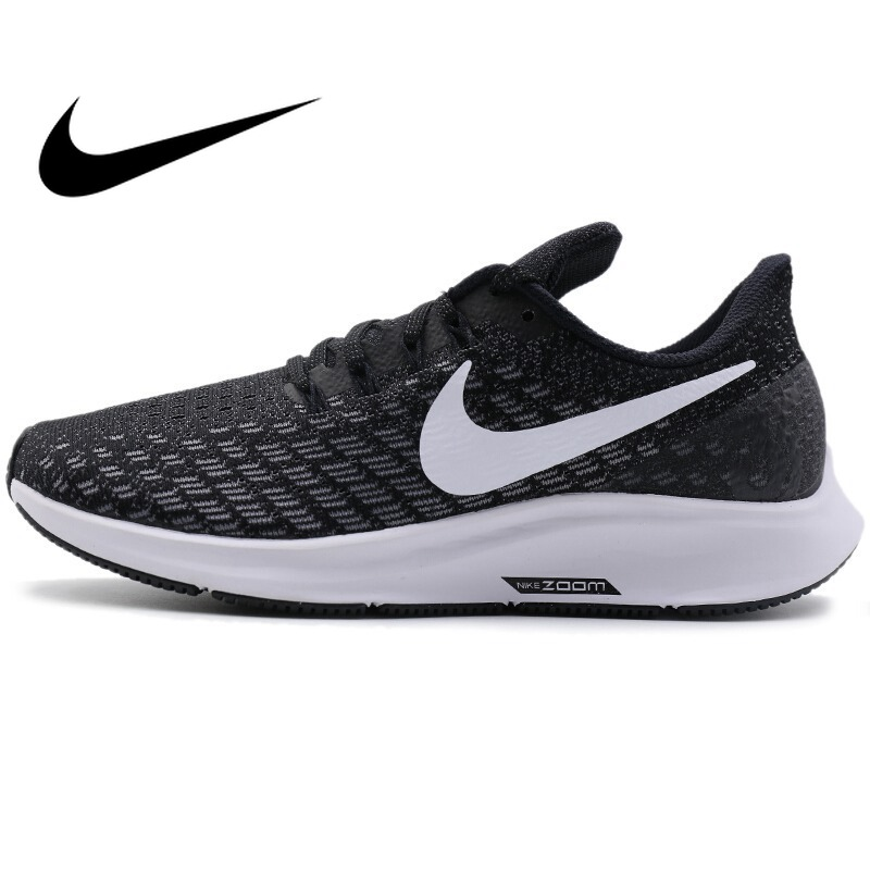 Original NIKE AIR ZOOM PEGASUS 35 Women's Breathable Running Shoes Outdoor Sneakers New Sports Designer For Athletics 942855-001