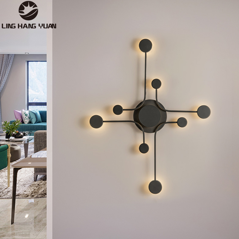 Minimalist Modern LED Wall Lamps Bedside lights Living Room Bedroom Nordic Ceiling Mounted Aisle Corridor Wall Lights Lighting