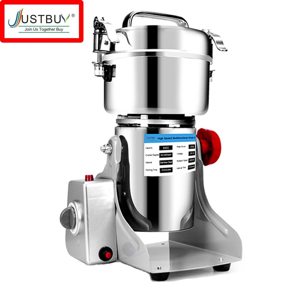 36 Months Warranty 800G Herb Coffee Machine Grinder Grain Spices Mill Medicine Wheat Mixer Dry Food Grinder