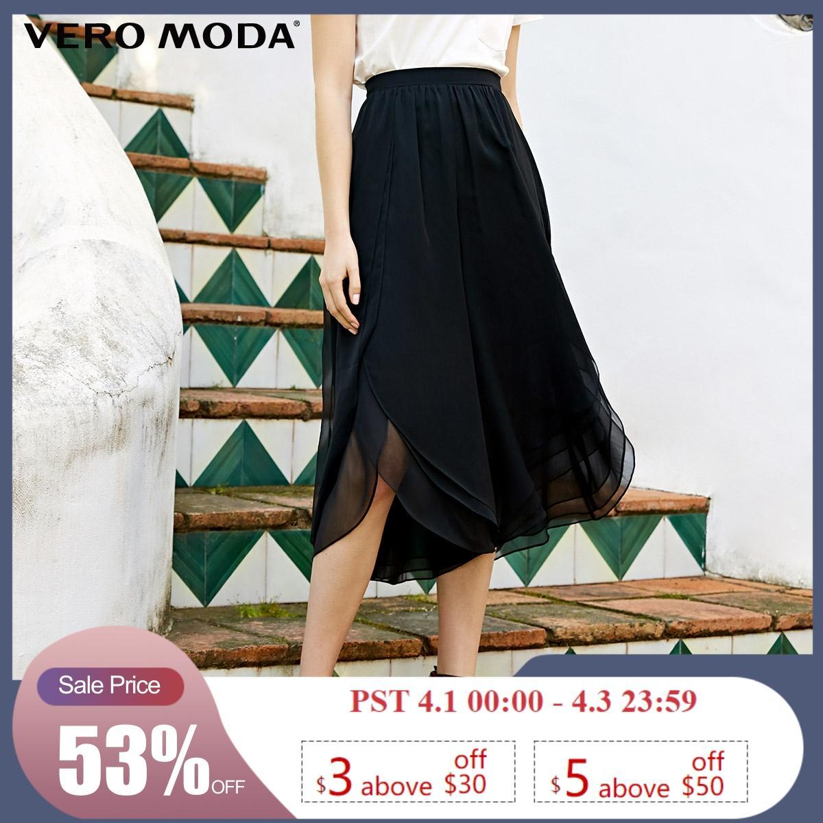 Vero Moda New Arrivals Ins Style Draped Capri Pants   31926J533