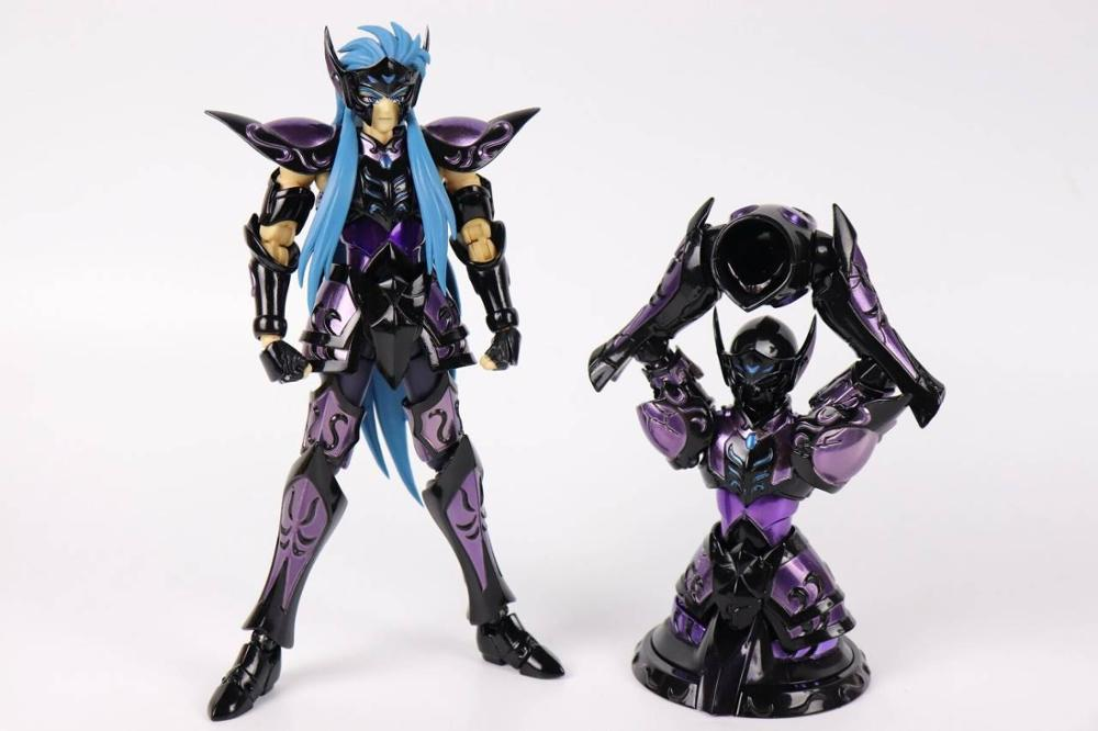 CS Model Saint Seiya Cloth Myth EX Surplise Aquarius Camus Model Double Metal Cloth