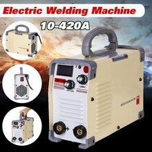 220 В AC сварочный аппарат 10-420A DC инвертор ручной Мини инверторов ММА IGBT мини Электрический дуговой сварочный аппарат высокого качества