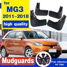 Molded Mud Flaps For MG3 2011-2018 2012 2013 2014 2015 2016 Mudflaps Splash Guards Mud Flap Front Rear Mudguards Fender set molded mud flaps for honda fit jazz 2014 2017 mudflaps splash guards front rear mud flap mudguards fender 2015 2016