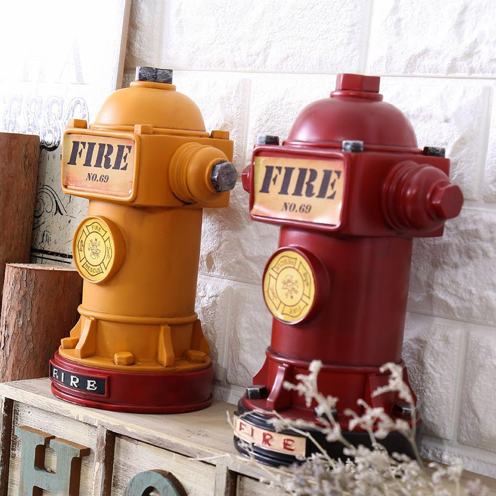US $9.9 Vintage Fire Hydrant Piggy Bank Money Coins Saving Pot Desktop  Ornament DecorBottles, Jars & Boxes - AliExpress