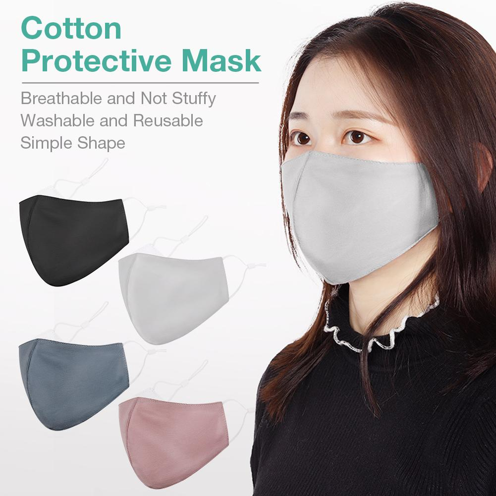 Fast Delivery Anti-Dust Mouth Mask Dustproof Light Thin Washable Reusable Hot Sale Mask Cotton Unisex Mouth Muffle For Man Women