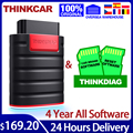 THINKCAR Thinkdiag obd2 scanner diagnostic tools Full System 4 Year Car diagnostics tpms autodata free shipping PK elm327