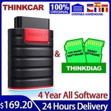 THINKCAR Thinkdiag obd2 scanner diagnostic tools Full System 4 Year Car diagnostics tpms autodata free shipping PK elm327