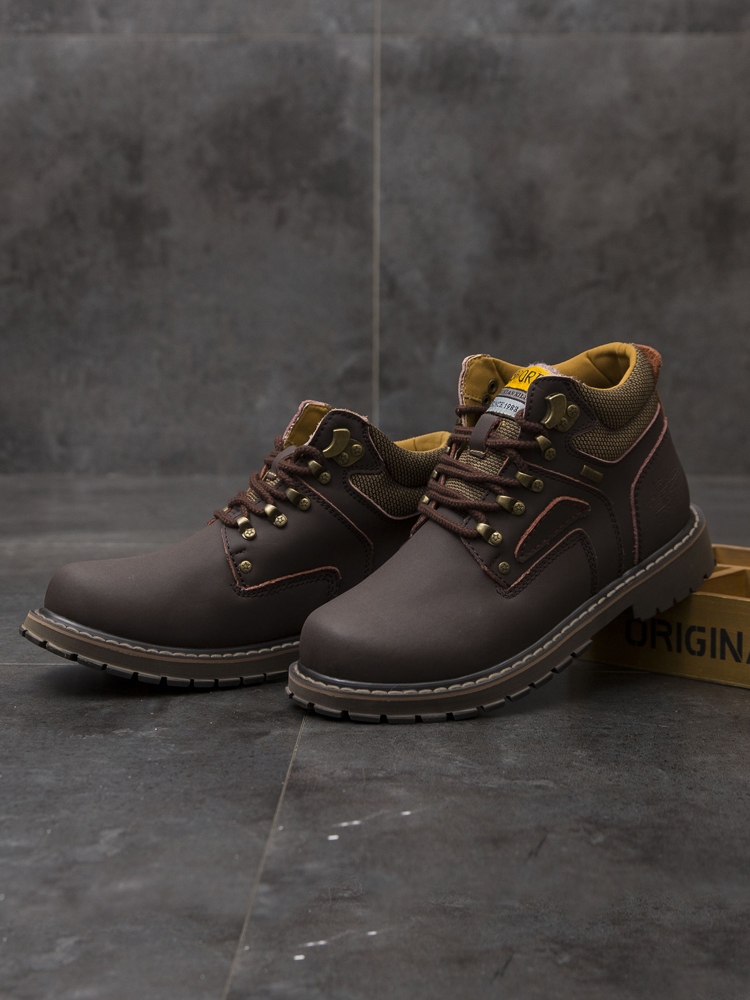 SURGUT Snow-Boots Retro-Shoes Rubber Warm Waterproof Winter Big-Size Brand England Men's