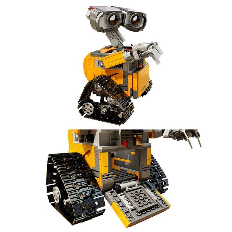 Robot Wall-E Building Blocks Toy 9