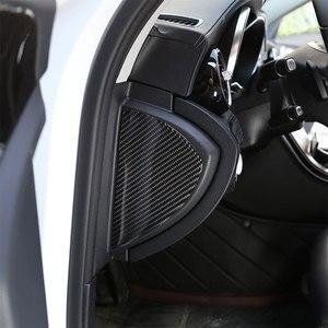 Car Accessories Side Decoration Cover Carbon Fiber 3D Interior Protection Sticker For Mercedes Benz C Class W205 C180 2016-2019