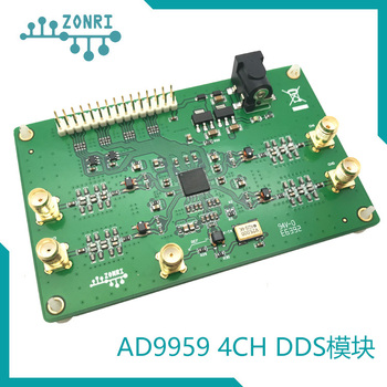 AD9959 Four Channel High Speed DDS Signal Generation Module RF Signal Source 200MHz Balun Output