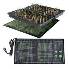 10*20,75 дюймов водонепроницаемый нагревательный коврик для рассады коврик для роста растений прорастание семян расширение клон пусковая площадка садовый инструмент
