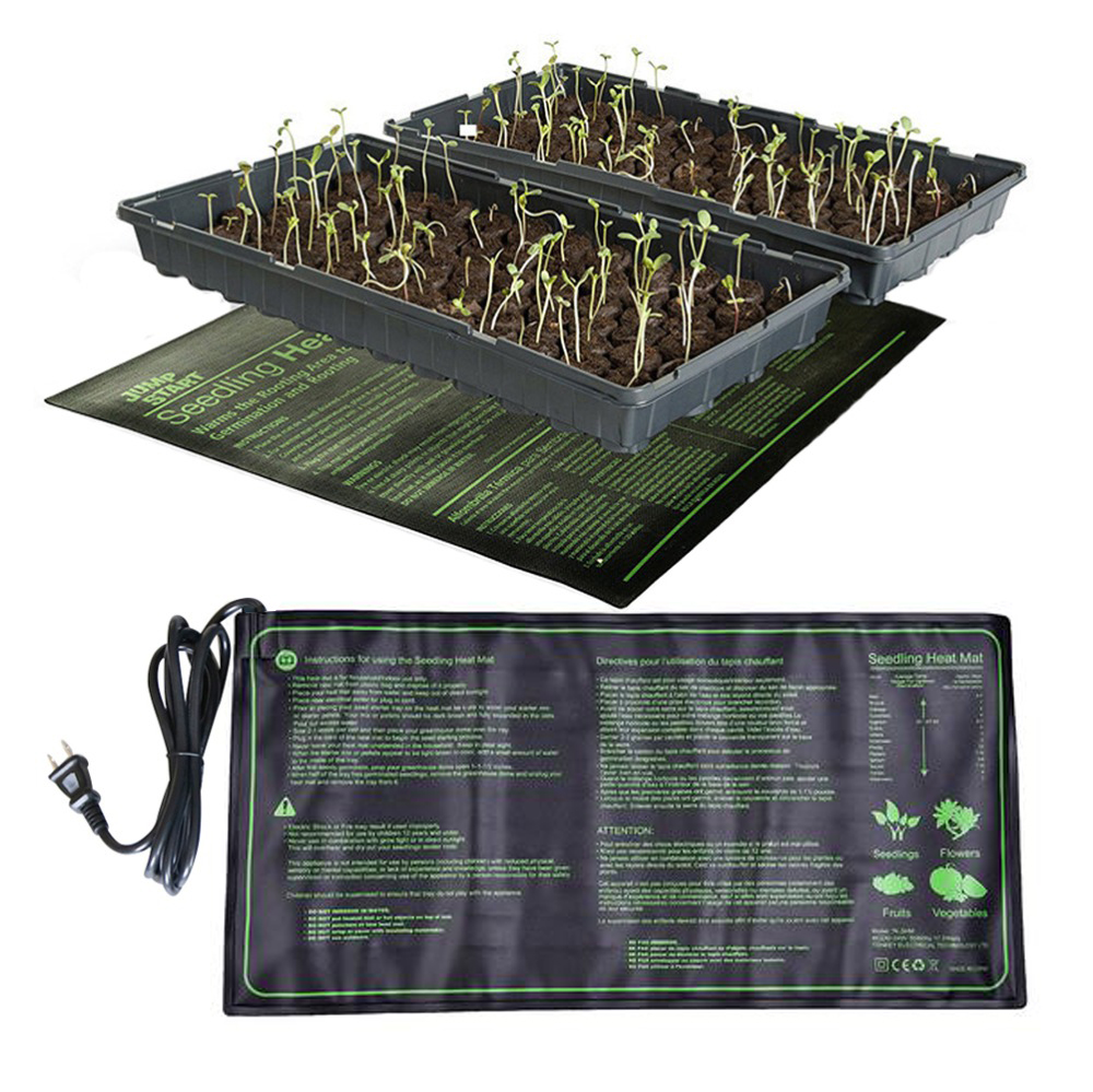10*20.75Inch Waterproof Seedling Heating Mat Plant Growth Mat Seed Germination Propagation Clone Starter Pad Gardening Tool