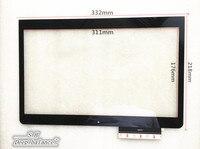 Digital sensor 14 inch original flat panel touch screen capacitance screen FP TPAYS214102E 03X H handwritten external screen