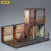 JOYTOY – maquette Mecha dépôt, Section observation/Section arme, adaptée aux figurines de soldats 1:18, livraison gratuite, articles en Stock, 1/18