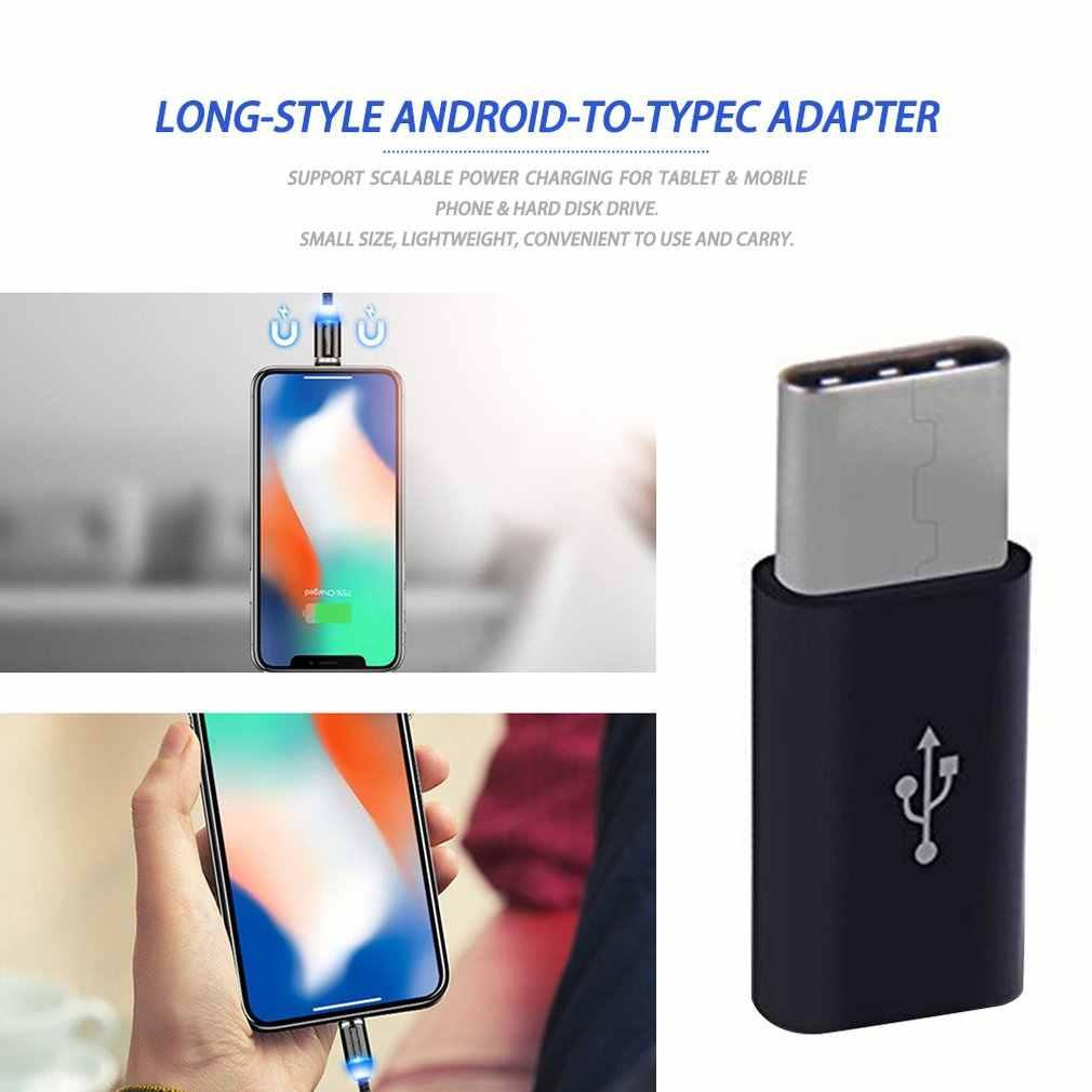 Đa Năng USB 3.1 Loại C Cổng Kết Nối Micro USB Nam Đến Nữ Bộ Chuyển Đổi Mini Di Động USB-C Dữ Liệu Loại Nguồn Adapter C Thiết Bị Android