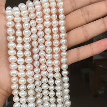 Жемчужное ожерелье из Жемчужной пряжи круглой формы размером