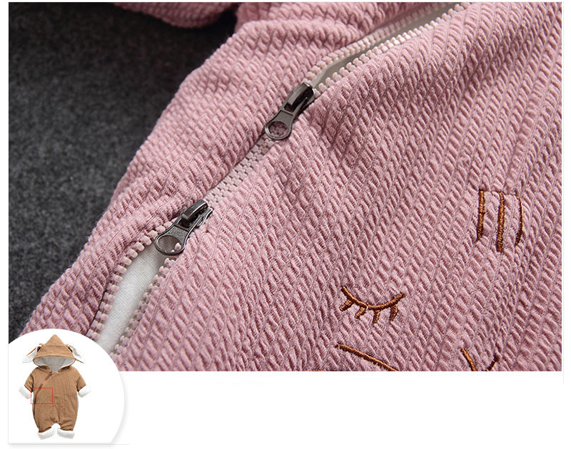 H00141a9fe66c4663a1c0185845086d09j 2019 New Russia Baby costume rompers Clothes cold Winter Boy Girl Garment Thicken Warm Comfortable Pure Cotton coat jacket kids