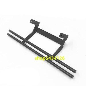 Черный металлический задний бампер аксессуары для радиоуправляемых гусеничных автомобилей для радиоуправляемого автомобиля 1:10 Traxxass Trx4 Trx6...