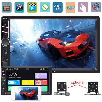 7 inch Car Dashboard 1080P Video FM Radio Rear View Bluetooth MP4 MP5 Player Hands-free Call Mutifuction автомагнитола