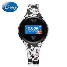Disney Smart Band Child Alarm Step Distance Waterproof Sport Kid Silicone Smartband Children Electronic Watch Healthy Boy Clocks