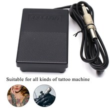 цена на Tattoo Pedal Switch Tattoo Footswitch Control Foot Pedal Foot Switch for Power Tattoo Machine