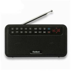 Image 2 - Rolton E500 стерео Bluetooth Динамик Портативный Беспроводной сабвуфер музыкальная резонаторная коробка громкой связи громкий Динамик s FM радио и фонарик