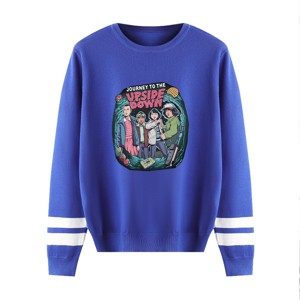 Stranger Things O-neck Sweater Men/women Hot Sale Fashion Print Knitted Sweater Stranger Things Sweater Women's Casual Clothing
