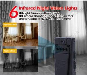 Image 3 - 1080P Mini Camera HD Video Voice Recorder Clip DV IR Night Vision Motion Sensor Micro Cam Secret Webcam Camara espia oculta