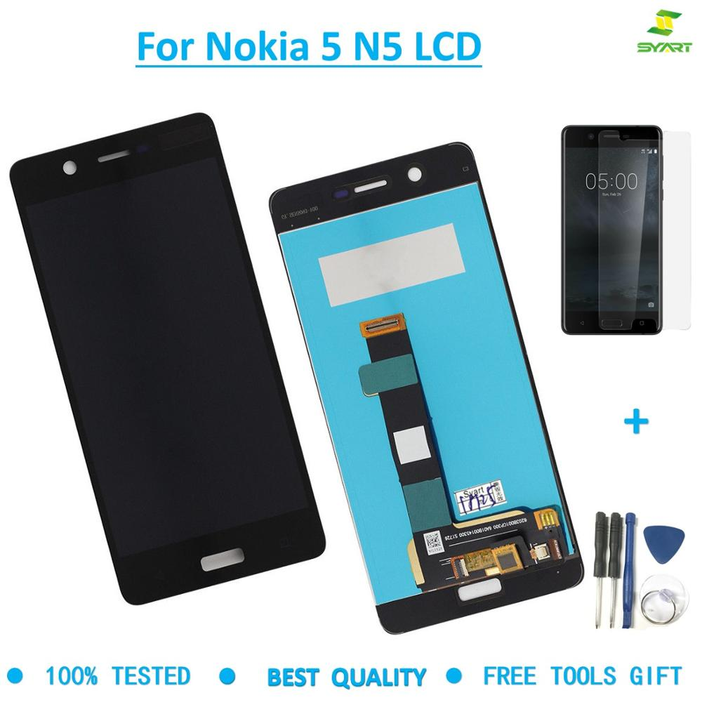 For Microsoft <font><b>Nokia</b></font> <font><b>5</b></font> N5 Display Touch Screen Digitizer For Nokia5 TA-1008 TA-1030 TA-<font><b>1053</b></font> LCD Screen Assembly Replacemen parts image