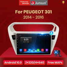 Multimedia Car-Radio Junsun Carplay Elysee Citroen Video-Player PEUGEOT Android-10 DSP